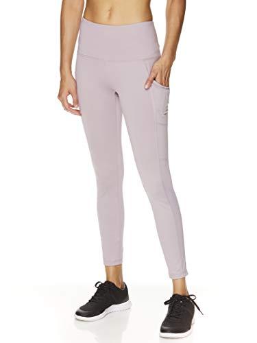 Reebok Women's 7/8 Workout Leggings w/High-Rise Waist
