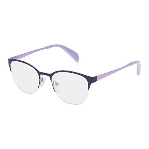 TOUS VTO3384901HD Gafas, MORADO, 49/19/135 para Mujer