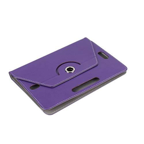 Logicstring Cubierta Protectora Universal para Tableta De 7 Pulgadas Cubierta Protectora Giratoria para Tableta De 360 Grados