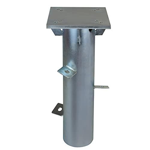 Montafox Universal Bodenhülse Bodenplatte zum Einbetonieren für Sonnenschirme Sonnenschirmständer Wäschespinne