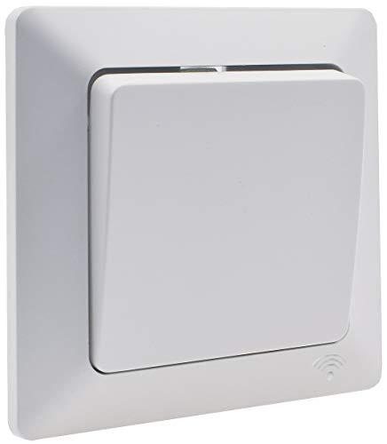 Interruptor de pared WiFi Unterptuz SmartHome, conmutación manual y control por aplicación compatible con Andoid/iOS/Alexa/Google