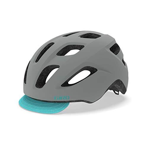 Giro Damen Trella Fahrradhelm Dirt, Matte Grey/Dark Teal, Uni 50-57cm