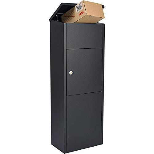 RAL7016 Paketbox Paketkasten XXL Anthrazitgrau Matt Paketbriefkasten Postbox abschließbar 895x395x290