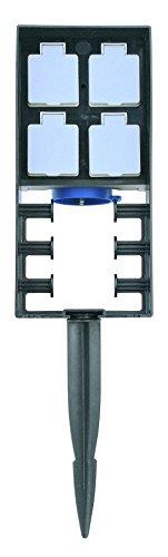 OASE 55433 InScenio 230 V - Steckdosen-System mit Spritzschutz zur Stromversorgung für den Garten und Außenbereich