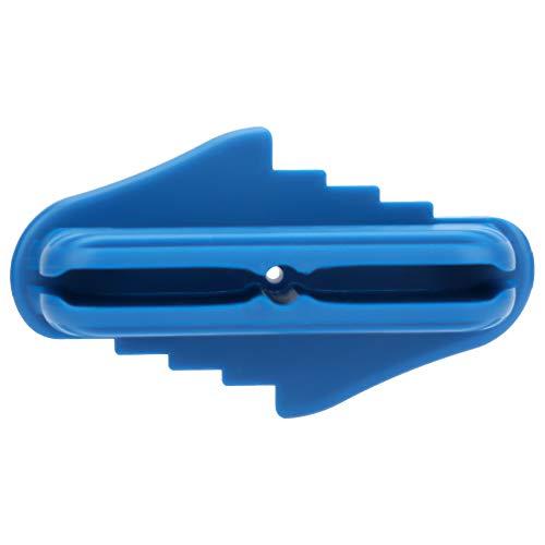 Fijación de calibre de escriba Estable, precisa Carpintería Línea de medida Regla Agujero de perforación Calibrador central de conexión para posicionamiento y medición de azulejos