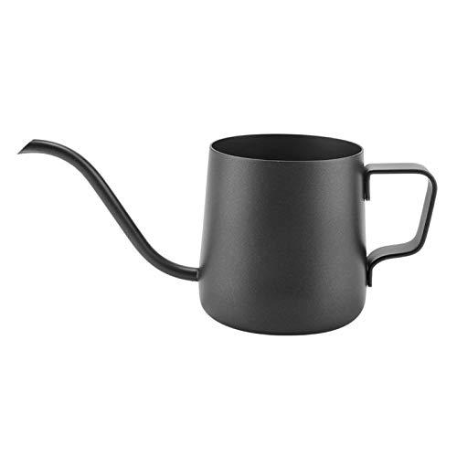 Zwanenhals Koffiepot Koffiepot Anti-brandwonden Zwanenhals Koffie Waterkoker voor Thee Thuis Keuken Benodigdheden(black)