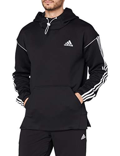adidas M IW HD SWT Sudadera, Hombre, Negro/Blanco, S