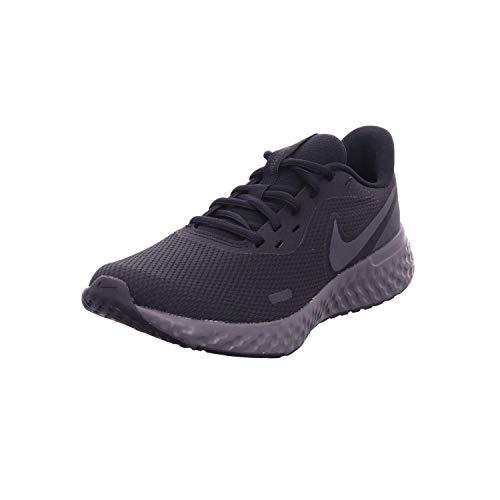 Nike Revolution 5, Zapatillas de Atletismo para Hombre, Multicolor (Black/Anthracite 001), 41 EU