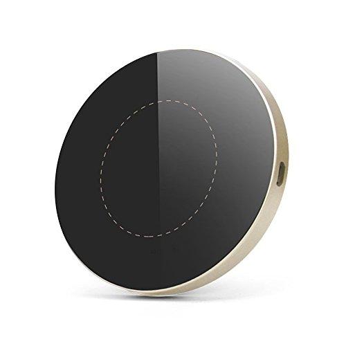 ワイヤレス 充電器 急速 折りたたみ qi Ewin 3way 充電 iphone11 / iphone11 pro /iphone11pro max / iphone8plus / iphone xs/iphone xr など対応 10W / 7.5W / 5W 出力 FAST Charger (ゴールド)