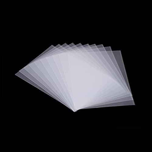 E E-NICES Accessory FEP Film Sheet 5pcs SLA/LCD Sheet Non-Stick Reservoir Release Liner for Photon Resin DLP 3D Printer 140x200mm 0.15-0.2mm