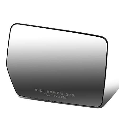 90194 OE Style Manual Adjustment Mirror Glass Lens Compatible with F-150 Mark LT...