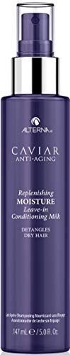 Alterna Caviar Anti-Aging Replenishing Leave-in Conditioning Milk, 5 Ounce   Detangles Dry Hair   Sulfate Free, Paraben Free