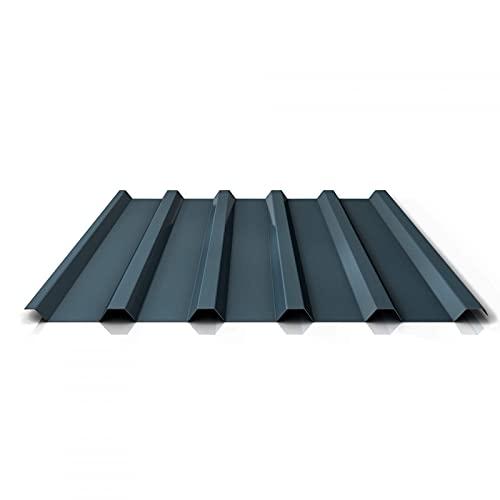 Trapezblech | Profilblech | Dachblech | Profil PS35/1035TRA | Material Stahl | Stärke 0,50 mm | Beschichtung 35 µm | Farbe Dunkelgrau