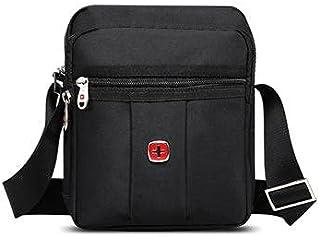 Swissgear Nylon Bag For Unisex , Black - Messenger Bags