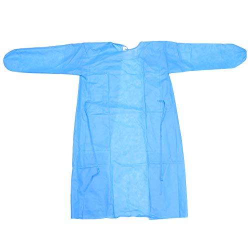 EXCEART Schutzanzug Einweg OP Kittel Unisex Overall Ärzte Krankenschwester Sicherheit Krankenhaus Arbeitskleidung Klinik Tattoo Tierklinik