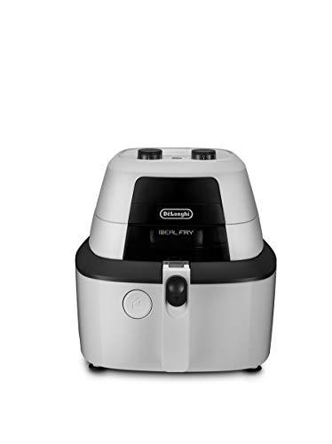 De'Longhi Heißluftfritteuse IdealFry FH2133 Multicooker mit 4-in-1 Funktion, auch zum Brotbacken, 1600 Watt, weiß