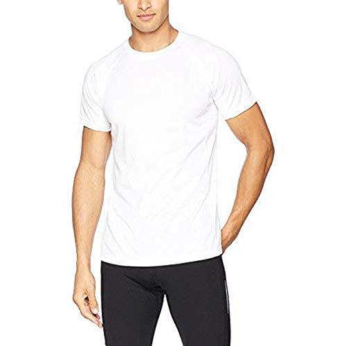 AA Sportswear Nouveau Homme Respirable T-Shirt Mèche Cool Sec Course Gym Haut Performances Sportives