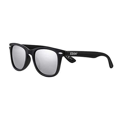 Zippo Gafas de sol 2020 OB71-01 con lentes grises espejadas