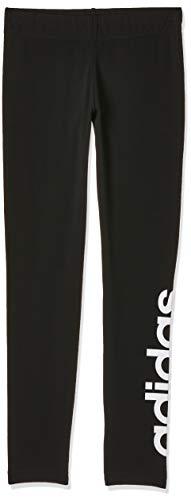 adidas Mädchen YG E LIN TGHT Tights, Black/White, 5-6Y