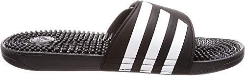adidas Adissage, Unisex-Erwachsene Dusch- & Badeschuhe, Schwarz (Core Black/Footwear White/Core Black 0), 37 EU (4 UK)