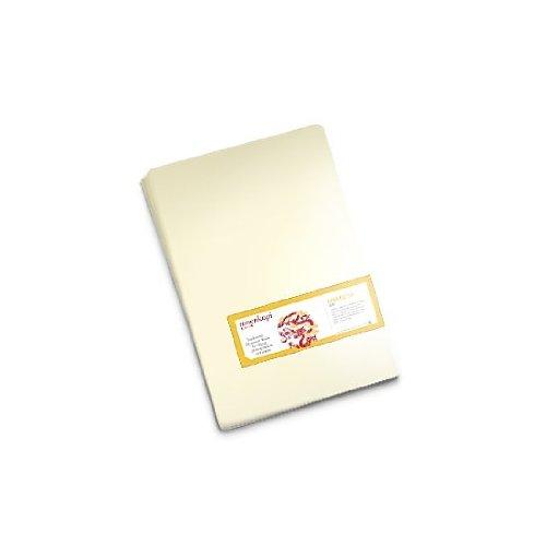Moab Moenkopi Washi Unryu A46-MKU55131910 Japanisches Papier, Maulbeerbaumfasern, 55 g, A3, weiß, 10 Blatt