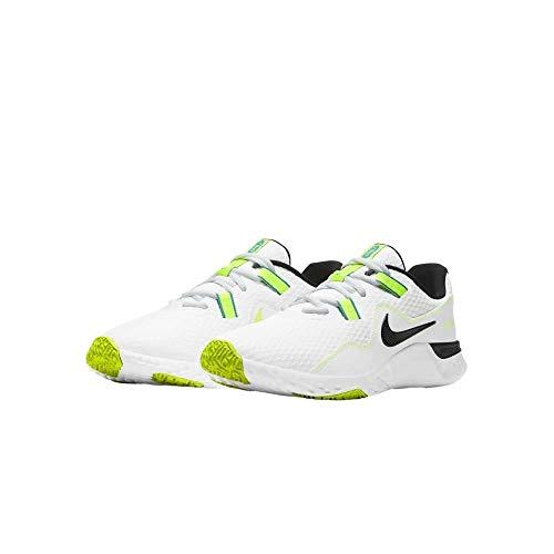 Nike Renew Retaliation TR 2, Zapatillas para Carreras de montaa Hombre, White Black Volt Lt Blue Fury, 41 EU