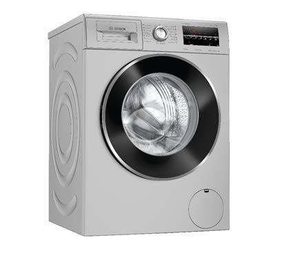Bosch 7.5 kg Fully Automatic Front Loading Washing Machine (WAJ2846IIN, Silver, Inbuilt Heater)