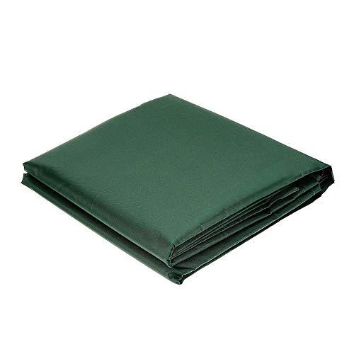 Buty Muebles de Exterior de la Cubierta Protectora Rectangular Oxford Verde de la Tela Impermeable a Prueba de Viento Lluvia Nieve para sillas de Mesa al Aire Libre