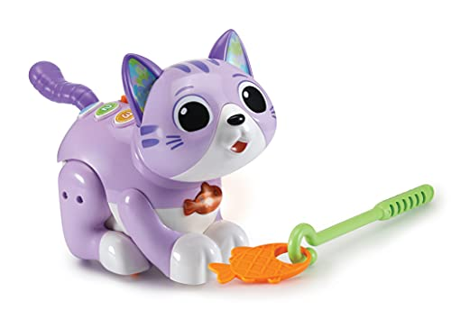 VTech My Playful Kitten, Educational Toy with 2 Modes, Baby Musical Toy with Songs, Phrases and Sound Effects, Cute Cat Toy for Interactive Play, Learn Numbers, Colours and Emotions, Ages 18 Months +