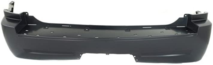 Rear Bumper Cover Compatible with 2005-2010 Jeep Grand Cherokee Primed with Tow Hook Holes