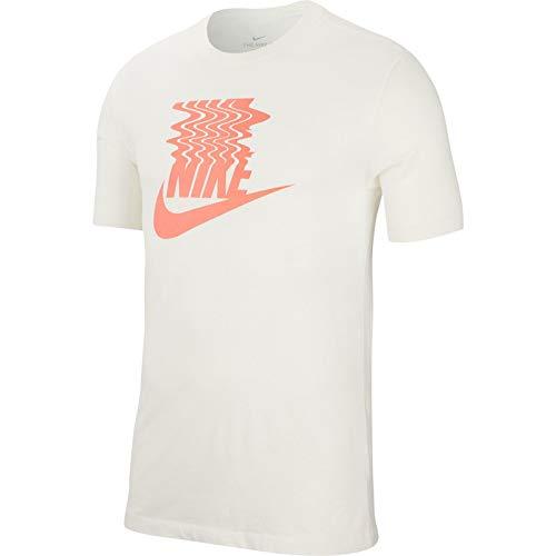 Nike Herren T-Shirt Seasonal, Sail, M, BQ1265