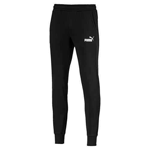 PUMA Herren ESS Logo Pants TR op SRL Hose, Black, 4XL