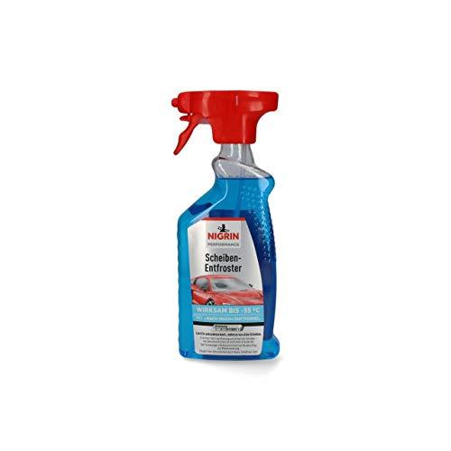 Scheiben-Entfroster 500ml Sprühflasche, Scheiben-Enteiser-Spray, Pumpzerstäuber, wirksam bis -55° C, verhindert Wiedervereisung