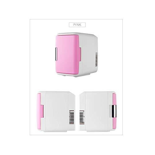 CNDY Gewerblicher Kühlschrank, Autokühlschrank, Minikühlschrank, Gleichstromkompatibilität, Camping, Reise, Picknick, Pink-OneSize