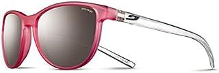 Julbo - Idol - Gafas de sol para niña, color rosa translúcido y cristal Brill, 10-15 años