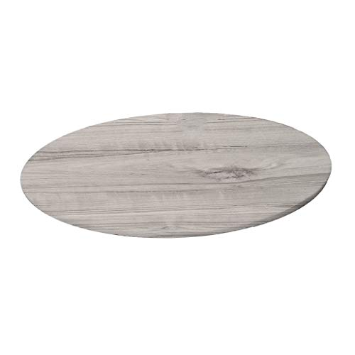 Mantel de Mesa, Elástico Redondo Antideslizante Resistente a Agua 140 x 140 cm - Patrón de mármol