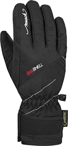Reusch Mädchen Brita GTX Junior Handschuhe, Black/White, 5.5