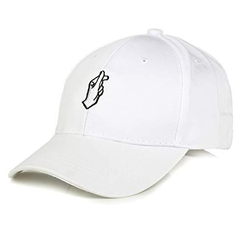 MGUOH Finger Embroider Golf Baseball Cap Männer Frauen HysteresenhutSun Truck Hat