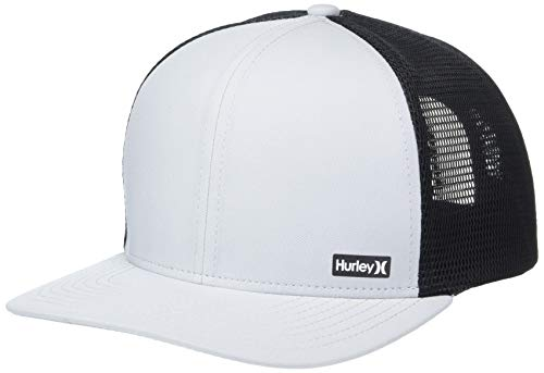 Hurley M League Hat Gorras, Hombre, Cool Grey or Black, Talla Única