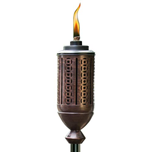 TIKI Brand 65-Inch Cabos Metal Torch, Bronze
