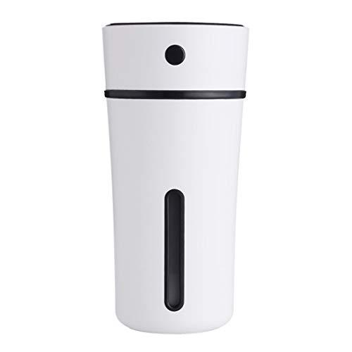Fusanadarn luchtbevochtiger Cool Mist 300 ml met nachtlampje USB-lijn zonder automatische wateruitschakeling