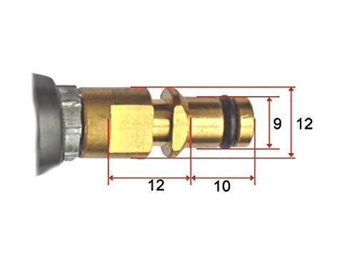 Hochdruckschlauch für alle Kärcher Hochdruckreiniger K2 K3 K4 K5 K6 K7 Home & Garden Serie ab Baujahr 2008 mit Click Quick Connect Stecksystem wie 2.641-721.0 mit beidseitigem Quick Click (3 Meter) - 2