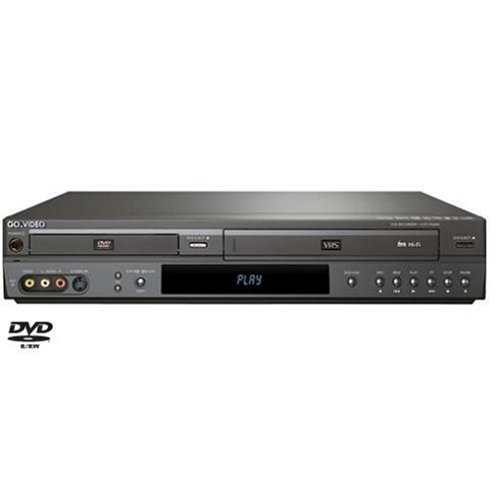 Go Video VR3845 Combo DVD Recorder and Hi-Fi VCR