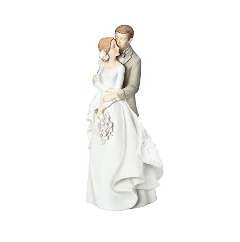 Roman Giftware - Love Story Wedding Cake Topper, 9.25' H, Giftware, Resin and Stone, Wedding Giftware, Decorative