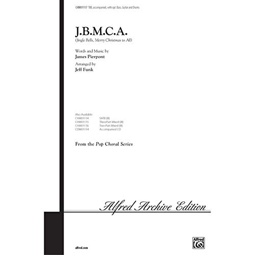 Alfred 00-CHM01117 JBMCA-Cascabeles-Feliz Navidad a todos - Music Book