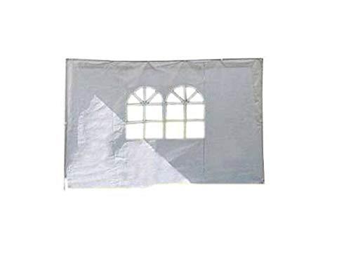 TrendLine Seitenteile für Pavillon 3x3 m weiß 2 STK Klettverschluss Gartenzelt