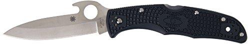 Spyderco Endura Wave C10PGYW Couteau de Poche Noir