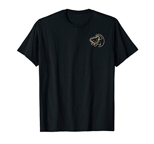 Disney Lion King Simba Gold Cave Painting Graphic T-Shirt