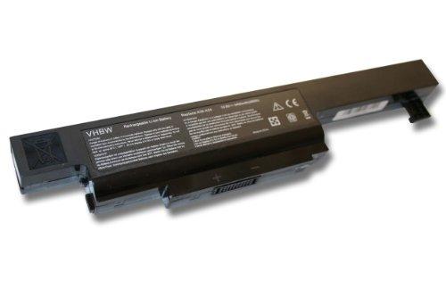 Batterie LI-ION 4400mAh noire pour MEDION Akoya & MSI, remplace A32-A24