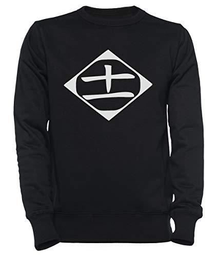 Rundi # 11 Hombre Mujer Unisexo Sudadera con Capucha Negro Tamaño XXXL - Women's Men's Unisex Sweatshirt Hoodie Black